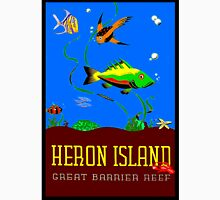 """HERON ISLAND"" Great Barrier Reef Print Unisex T-Shirt"