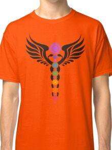 Caduceus - Kundalini - 7 Chakras Classic T-Shirt