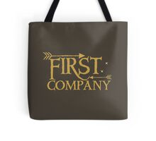 First COMPANY with arrows Tote Bag