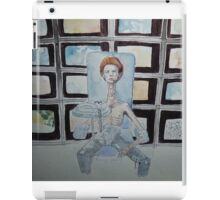 THE MAN WHO FELL TO EARTH iPad Case/Skin