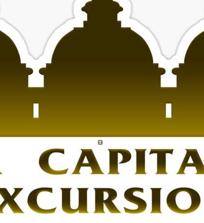A Capital Excursion Sticker
