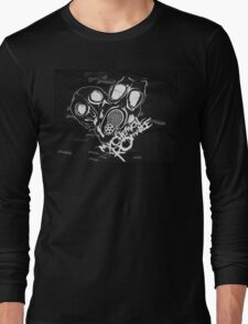 Gas Masks And Bombers Long Sleeve T-Shirt