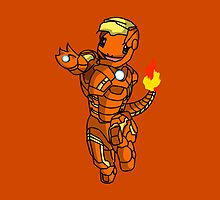 Iron-Charmander by Willy0816