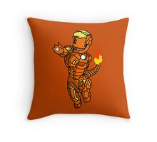 Iron-Charmander Throw Pillow