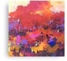 Bosco e sottobosco Canvas Print