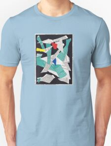 Collage abstract multicolor 3232 Unisex T-Shirt