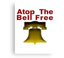 Atop The Bell Free Canvas Print