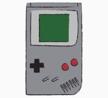 Classic Gameboy Sketch Kids Tee