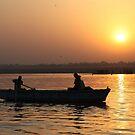 Varanasi Sunrise by John Dalkin