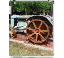 Tractor from yesteryear iPad Case/Skin