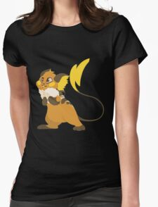 electric squeaker Womens Fitted T-Shirt