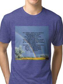 The Lords Prayer Tri-blend T-Shirt