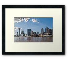 Southbank, Brisbane.  Framed Print