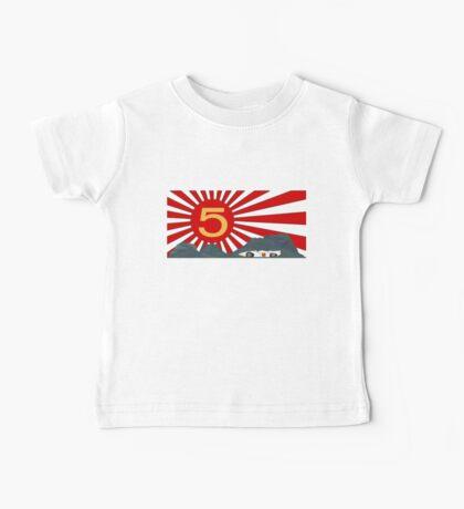 Mach 5 Speed Racer Rising Sun Baby Tee