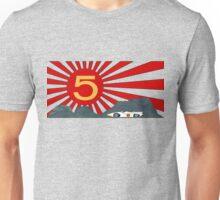Mach 5 Speed Racer Rising Sun Unisex T-Shirt