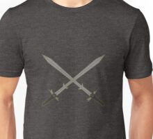 Crossed Great Swords Inspired by Dungeons and Dragons Unisex T-Shirt