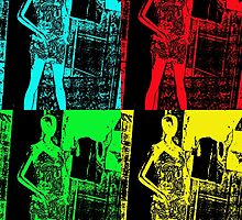 Mannequin Pop Art by Susan Werby
