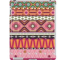 Aztec pattern with geometric elements  iPad Case/Skin