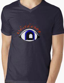 Tunnel Vision Mens V-Neck T-Shirt