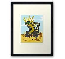 Nazca Tree Earthbound God Framed Print