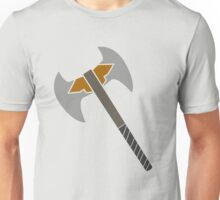 Minimal Battle Axe Design Unisex T-Shirt