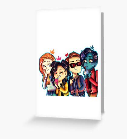 Smol Mutants Greeting Card