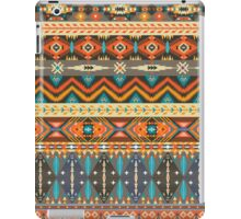 Colorful  tribal pattern with geometric elements iPad Case/Skin
