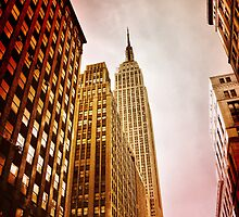 NYC including Empire State Building  by SussexScenictys