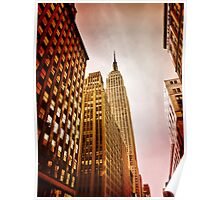 NYC including Empire State Building  Poster