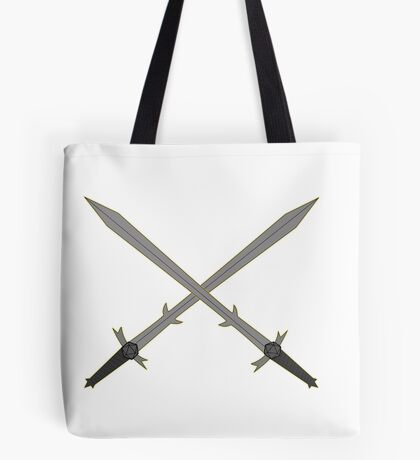 Crossed Great Swords Inspired by Dungeons and Dragons Tote Bag
