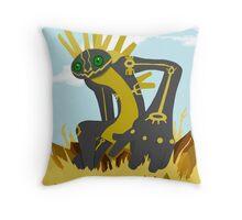 Nazca Tree Earthbound God Throw Pillow