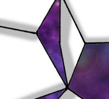Space Folded Sticker