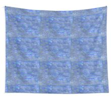 Purple Green And Blue Watercolor Play  Wall Tapestry