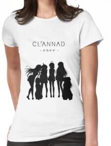 CLANNAD - Main Girls Womens Fitted T-Shirt