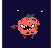 Apple Zombie Food Edition Photographic Print