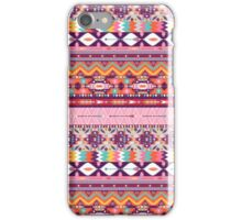 Colorful  native american  pattern with geometric elements iPhone Case/Skin