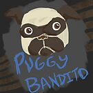 Puggy Bandito by CrSchilliger