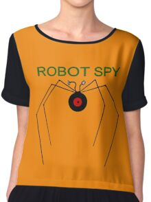 The Robot Spy from Jonny Quest Chiffon Top