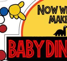 Mr. DNA! Making Baby Dinosaurs! Sticker