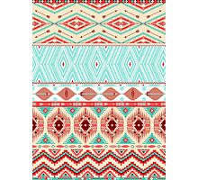 Aztec geometric seamless pattern Photographic Print