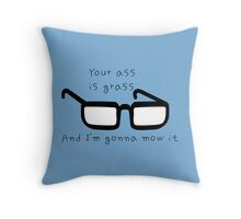 Tina Belcher quote Throw Pillow
