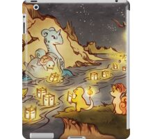 Pokemon Water and Fire Festival iPad Case/Skin