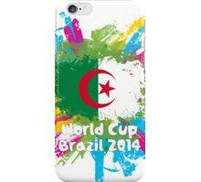 World Cup Brazil 2014 - Algeria iPhone Case/Skin