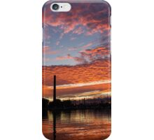Vivid Skyscape - Summer Sunset at Toronto Beaches Marina iPhone Case/Skin