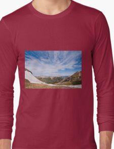 Red Mountain from Columbine Lake Pass Long Sleeve T-Shirt
