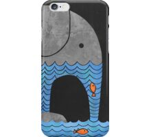 Thirsty Elephant  iPhone Case/Skin