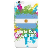 World Cup Brazil 2014 - Argentina iPhone Case/Skin