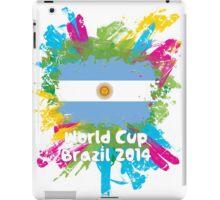 World Cup Brazil 2014 - Argentina iPad Case/Skin