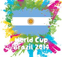 World Cup Brazil 2014 - Argentina by matys103