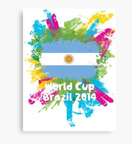 World Cup Brazil 2014 - Argentina Canvas Print